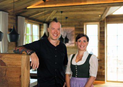 Stefan und Hannah - Restaurant Wassermann